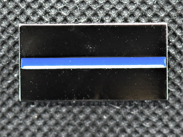 Thin Blue Line Lapel Pin