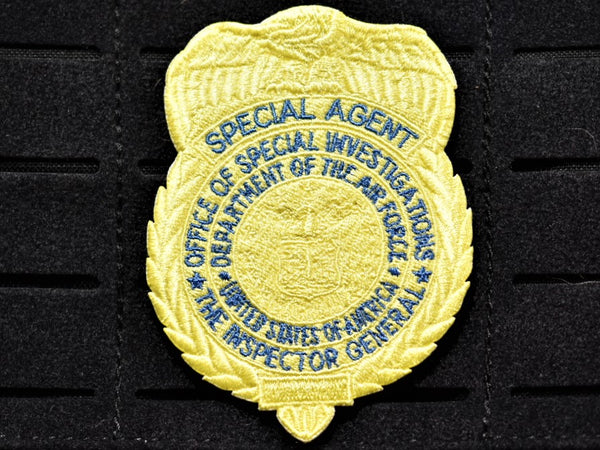 Yellow OSI Badge Patch (Velcro Backed)
