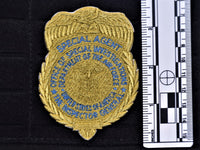 Gold OSI Badge Patch (Velcro Backed)