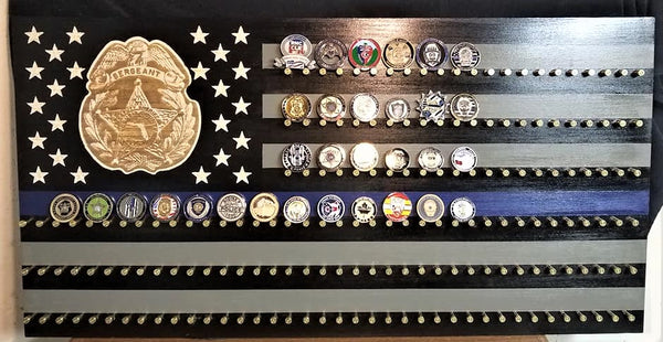 Flag Wall Coin Holder