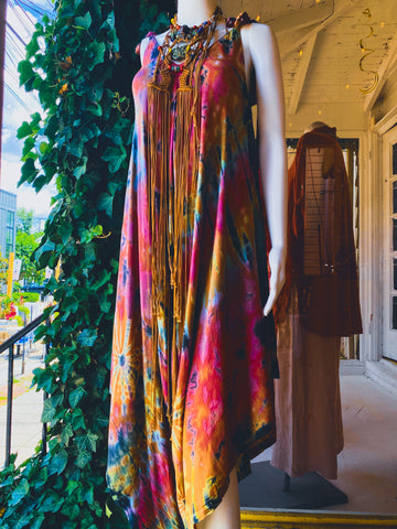Colorful summer dress from Something Else Boutique