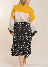 Load image into Gallery viewer, Abstract Dot Flirt Skirt