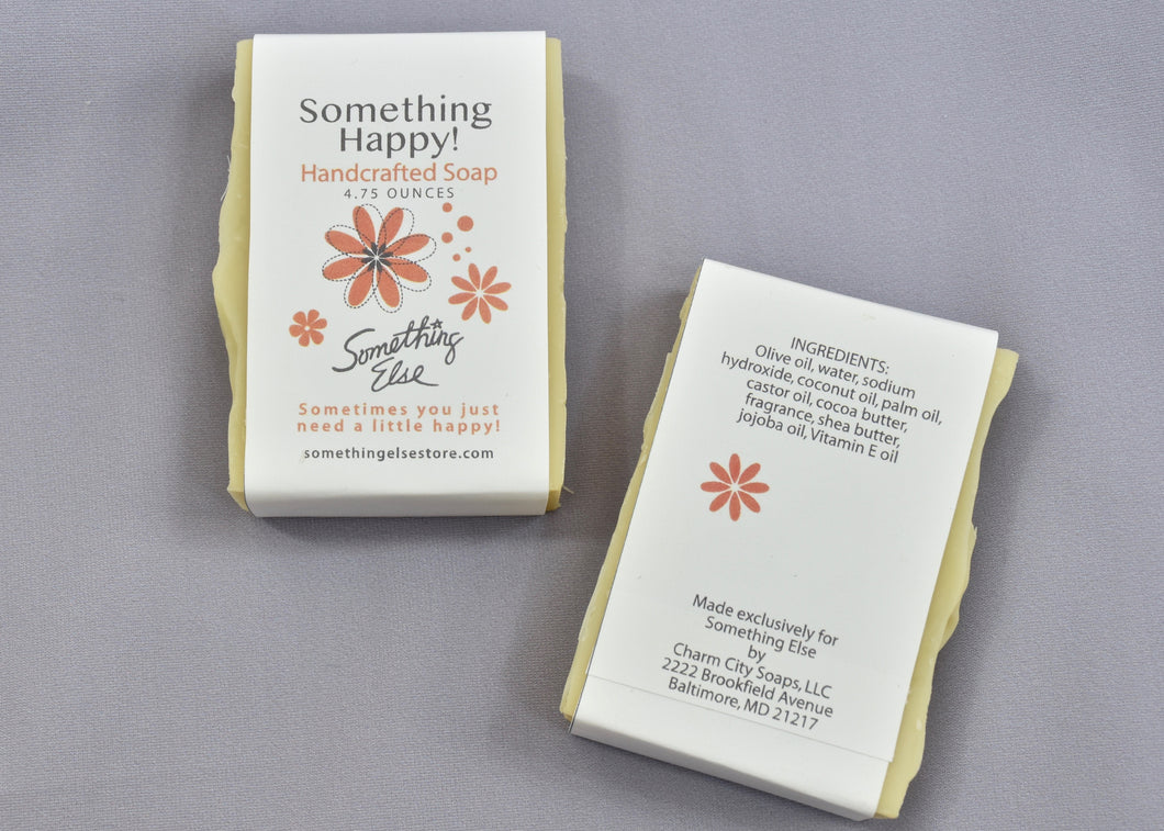 Something Happy Handcrafted Soap