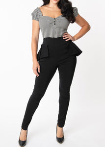 The Grable Peplum Pant