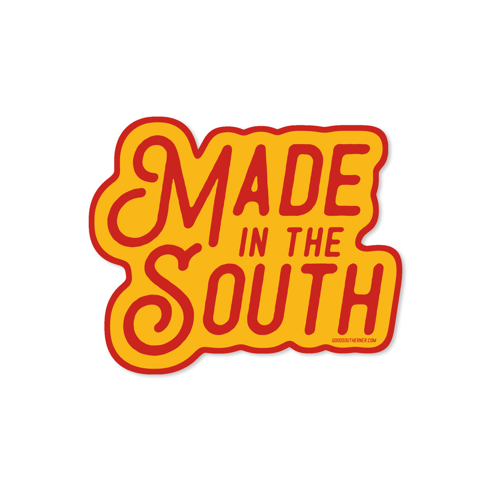 Made in the South Sticker