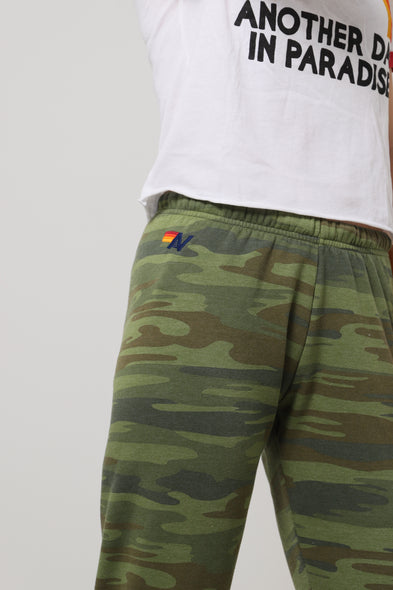5 Stripe Sweatpants - Camo