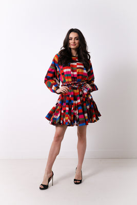 Ella Dress - Brick