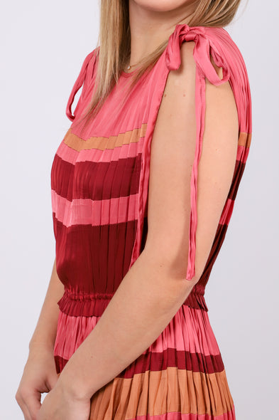 Alessa Dress - Cerise