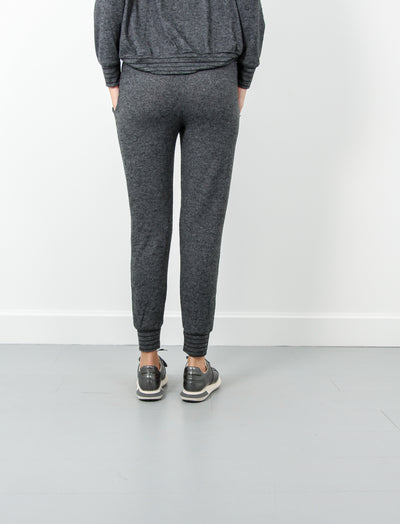 Tapered Pant-Charcoal