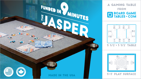 Jasper Board Game Table
