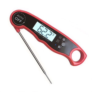 Waterproof Digital Thermometer Instant Read Thermometer with Calibration and Backlight for Kitchen