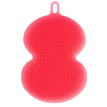 Antibacterial Silicone Dish Washing Kitchen Sponge Scrubber