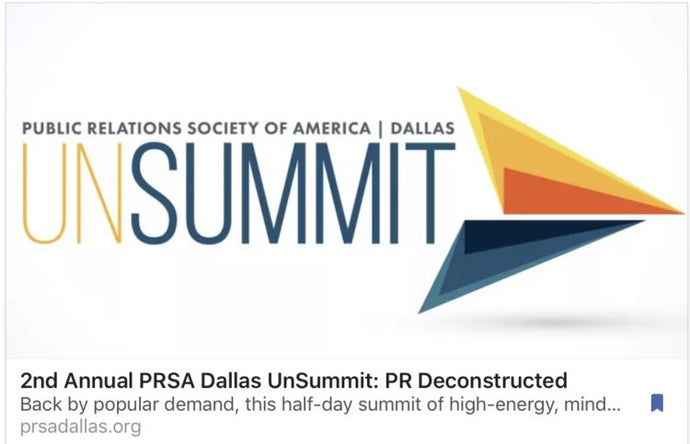 Speaking October 27th at PRSAUnSUmmit17!