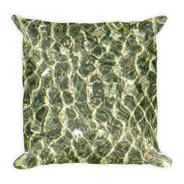 Water Ripples & Lake Tahoe Pillow - offbeatpillows