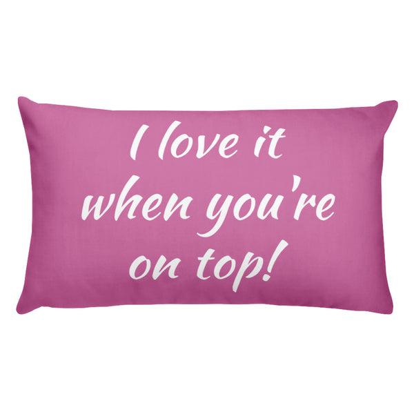 You're on Top Smoking Pillow - offbeatpillows