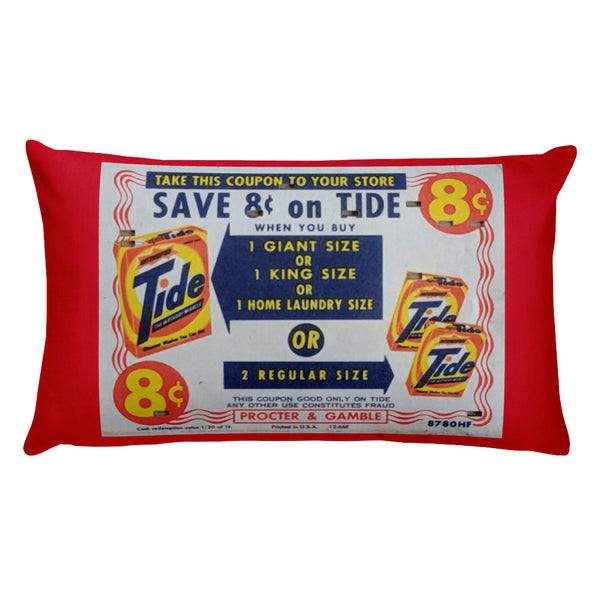 Vintage Tide Coupon & Duck Landing Pillow