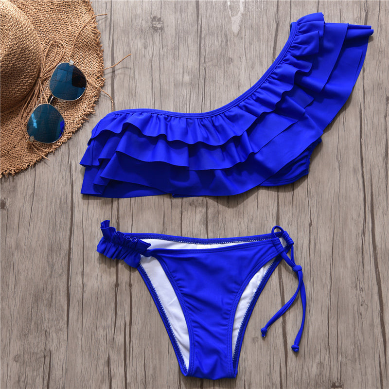 Tanlines Ruffled Bikini Sets (multiple styles available)