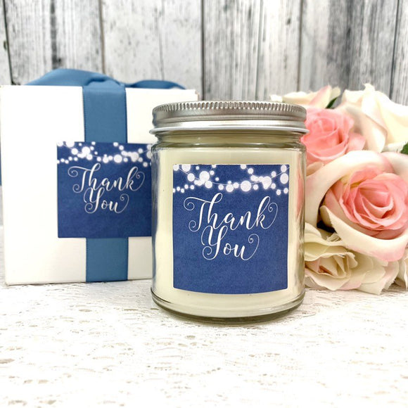 Thank You Candles - Thank You Gift  - Thank You Candle Gift - Thank You Gift Box - Thank you Candle - Candle Gift - Soy Candles