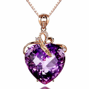 Purple Rhinestone Crystal
