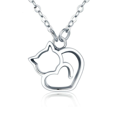 Lovely Cat - 925 Sterling Silver