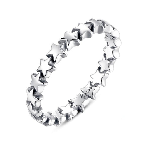 Star Trail Stackable Finger Ring