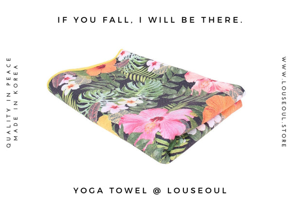 Louseoul offers Free yoga towel mats in Hong Kong
