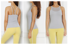Lycra tops with built in bra for yoga and fitness in Hong Kong