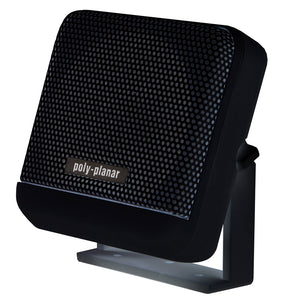 Poly-Planar VHF Extension Speaker - 10W Surface Mount - (Single) Black [MB41B]