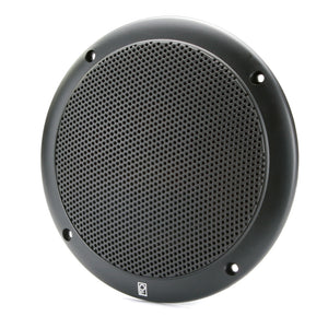 "Poly-Planar 4"" 2-Way Coax Integral Grill Marine Speaker - (Pair) Black [MA4054B]"