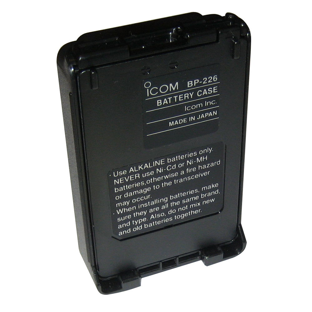 Icom Alkaline Battery Case f/M88 [BP226]