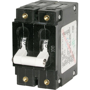 Blue Sea 7256 C-Series Double Pole Circuit Breaker - 80A [7256]