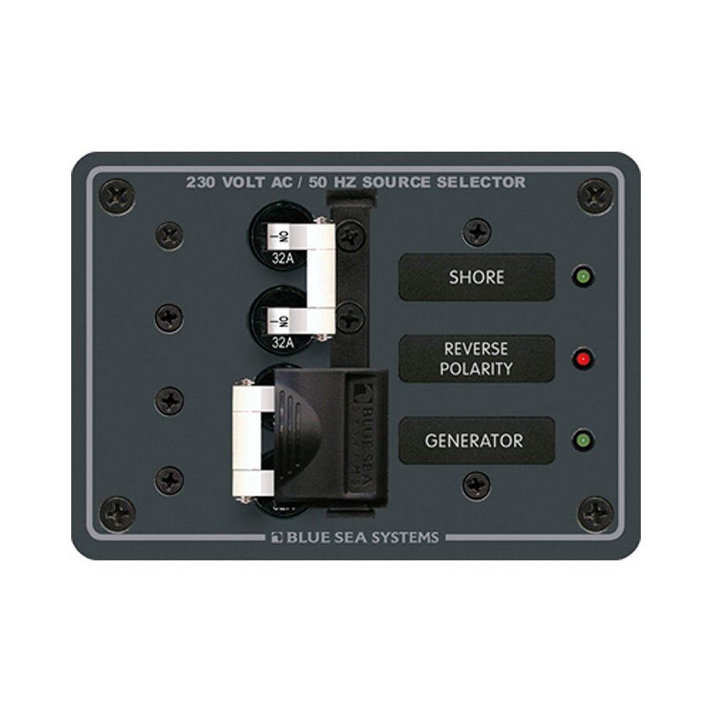 Blue Sea 8161 AC Toggle Source Selector (230V) - 2 Source [8161]