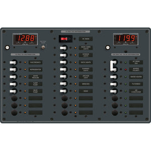 Blue Sea 8408 AC Main + 6 Positions / DC Main + 18 Positions [8408]
