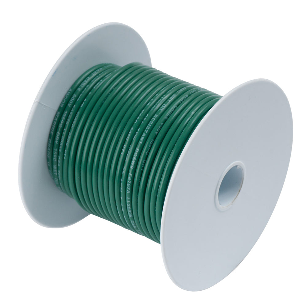 Ancor Green 8 AWG Tinned Copper Wire - 500' [111350]