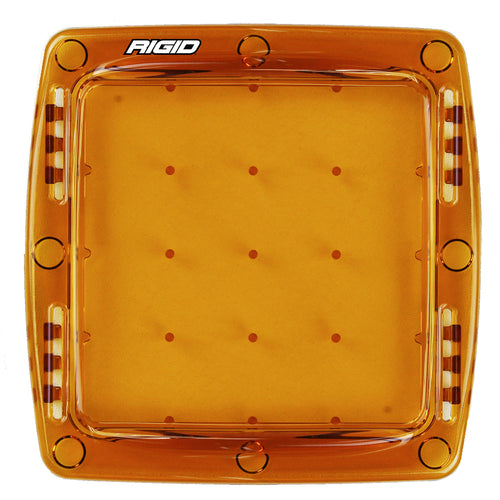 RIGID Industries Q-Series Lens Cover - Amber [103933]