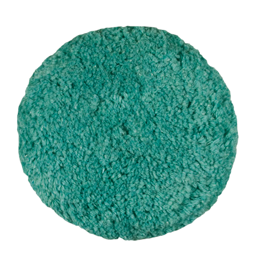 Presta Rotary Blended Wool Buffing Pad - Green Light Cut/Polish [890143]