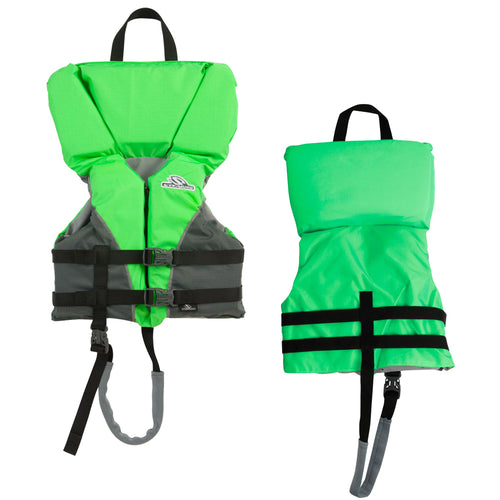 Stearns Heads-Up Child Nylon Vest Life Jacket - 30-50lbs - Green [2000032676]