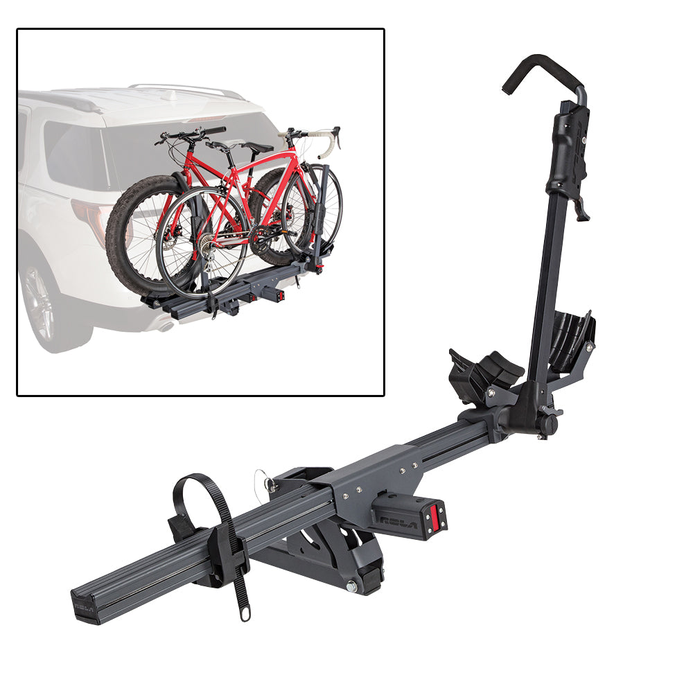 ROLA Convoy Bike Carrier - Trailer Hitch Mount - 1-1/4