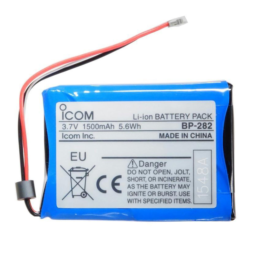Icom BP-282 1500mAh Lithium-Ion Battery f/M25 [BP282]