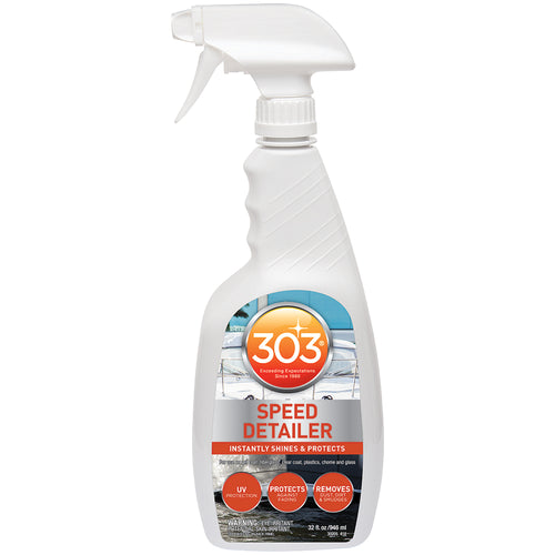 303 Marine Speed Detailer with Trigger Sprayer - 32oz *Case of 6* [30205CASE]