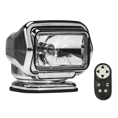 Golight Stryker ST Series Portable Magnetic Base Chrome Halogen w/Wireless Handheld Remote [30062ST]