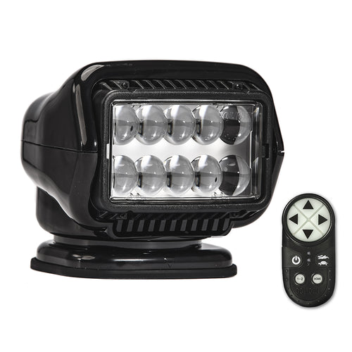 Golight Stryker ST Series Permanent Mount Black LED w/Wireless Handheld Remote [30514ST]