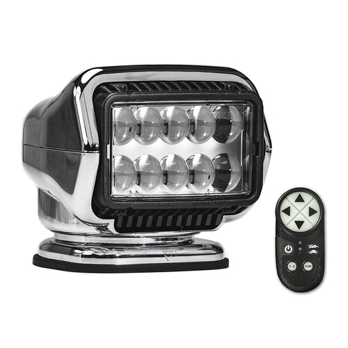 Golight Stryker ST Series Permanent Mount Chrome LED w/Wireless Handheld Remote [30064ST]