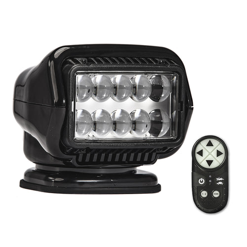 Golight Stryker ST Series Portable Magnetic Base Black LED w/Wireless Handheld Remote [30515ST]