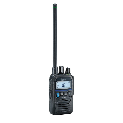 Icom M85UL Ultra Compact Intrinsically Safe Handheld VHF Marine Radio w/5W Power Output [M85UL]