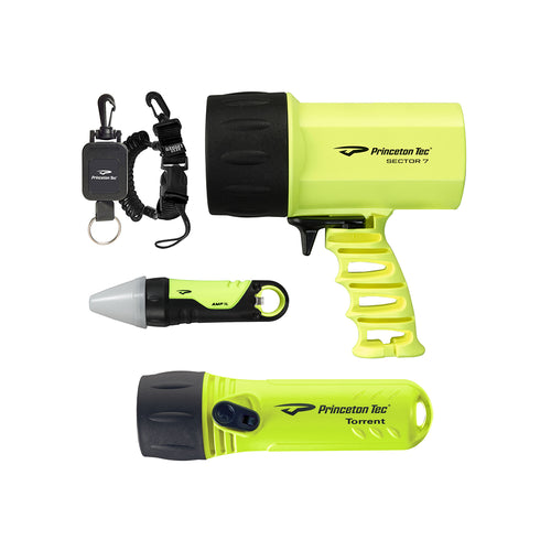 Princeton Tec Nav Pack Box Set - Neon Yellow [NP-NY]