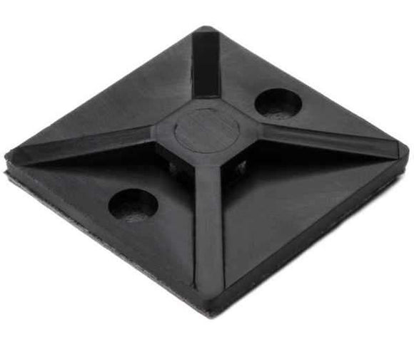 "Cable Tie Adhesive Base, 1.2"", 300lb<br />(HT 151-00646)"