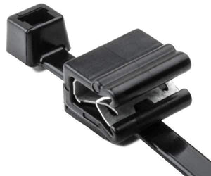 "Solar Edge Clip(1-3mm) and 8"" UV Cable Tie<br />(HT 156-02226)"