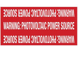 690.31E(3) PV Power Source USE-2 Wiring Reflective Vinyl Label Wrap<br>(HT 596-00207)