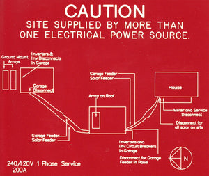 690.56 Remote Located Power Sources Engraved Map<br>(UV Acrylic)